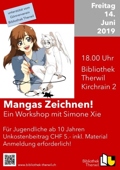 2. Manga-Workshop mit Simone Xie